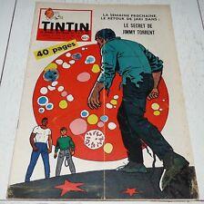 TINTIN 22/10 1959 N°574 HERGE TIBET B-36 CECIL B. DE MILLE AUTOMOBILE MACHEROT