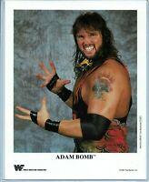 WWE ADAM BOMB P-254 OFFICIAL LICENSED AUTHENTIC ORIGINAL 8X10 PROMO PHOTO RARE