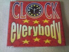 CLOCK - EVERYBODY - 6 MIX DANCE CD SINGLE