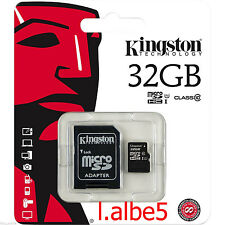 Kingston 32GB Micro SD SDHC SDXC UHS-I Class 32G Memory Card