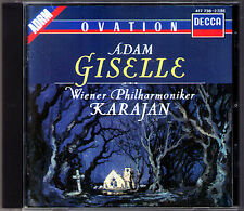 Herbert von KARAJAN: Adolphe ADAM Ballet GISELLE Wiener Philharmoniker DECCA CD