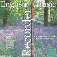 English Recorder Music, New Music