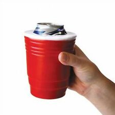 RED CUP SOLO - College Party Fun Beer Bottle Can Cup Foam Cooler Holder