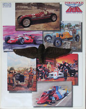 Vintage 1992 Indy 500 Race Program 76th Annual Al Unser Jr. 1st Win