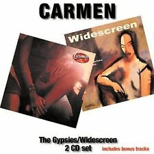 The Gypsies/Widescreen by Carmen (CD, May-2007, 2 Discs, Angel Air Records)