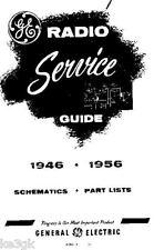 General Electric Radio Service Schematics * 1946 - 1956 * CDROM * PDF
