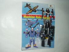 TRANSFORMER MACHINE ROBO SERIES #C14 AIRPLANE MOC