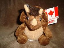 "TRIKE Triceratops Dinosaur Plush souvenir of canada Stuffed Animal House 4"""