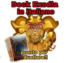 Yu-Gi-Oh! Baraja Completo - Exodia El Prohibido - Italiano - 40 Tarjetas #NSF3