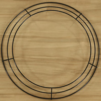 "12"" (3-Ring) WIRE DIY WREATH Form"