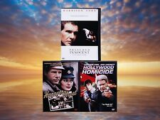 Harrison Ford 3 Movies DVDs Presumed Innocent Hanover Street Hollywood Homicide