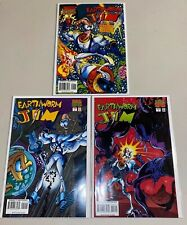 Earthworm Jim #1, 2 & 3 (1995 Marvel) Complete Run Htf! No Reserve!