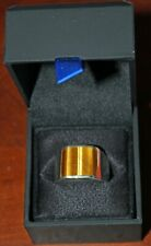 Men's Silver Ring with Tiger Eye Stone