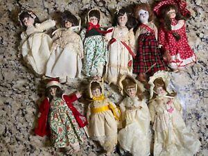 Gorham Dolls of the Month Lot