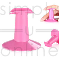 Finger Rest For Nail Polish Painting & Nail Art, Black & Pink