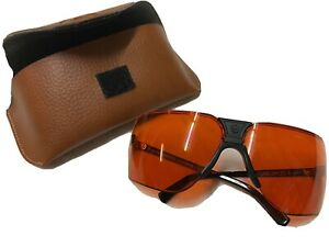 Large Sports Wrap Cycling Sunglasses Made in France 1980s Marcel