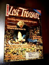 Lost Treasure Magazine January 1989 Treasure Hunting Gold Silver Coins Detectors