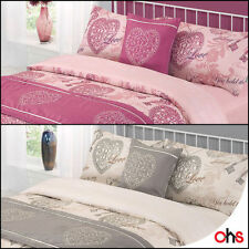 Polyester Hearts Contemporary Bedding Sets & Duvet Covers