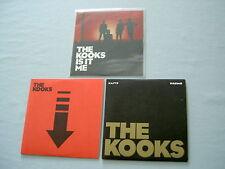 THE KOOKS job lot of 3 promo CD singles Is It Me Down Naive
