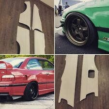 BMW E36 coupe REAR Felony form style OVERFENDERS DRIFT +50mm bodykit racing