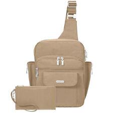 Baggallini Sling Crossbody Messenger Bag Handbag Organizer Back Pack Beach