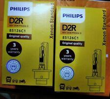 2 X LAMPARAS BOMBILLAS PHILIPS D2R 85126 35W XENON 6000K NUEVAS