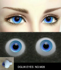 14mm bright blue high quality glass bjd doll eyes dollfie iplehouse M-28 shipUS