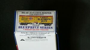 Branchline Blueprint Series Pabst Beer Reefer - HO Kit -