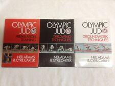 Neil Adams Olympic Judo x 3 - Complete Set - MMA, UFC, NHB, Grappling, Judo, BJJ
