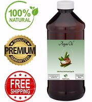 Argan Oil - 100% Pure Unrefined Moroccan Morocco For Hair Skin Face TRUE ORGANIC
