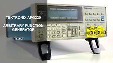 Tektronix Afg320 2 Ch 16 Mhz Function Arbitrary Waveform Generator Ref 760g