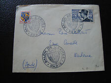FRANCE - enveloppe 5/6/1954 (cy66) french