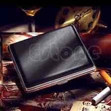 Pocket Leather Cigarette Tobacco Case Box Holder 20pcs