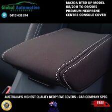 Fits Mazda BT50 Neoprene Centre Console Cover UP Model XT XTR GT BOSS