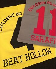 SARAFAN & BEAT HOLLOW Win & Place Saddle Cloth s Explosive Bid Handicap & PHOTOS