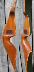 FRED BEAR KODIAK MAGNUM RECURVE BOW RIGHT HAND 45# GRAYLING 1968