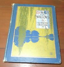 The Wind in the Willows Kenneth Grahame 1st US Paul Bransom 1913 10 Color  - F7