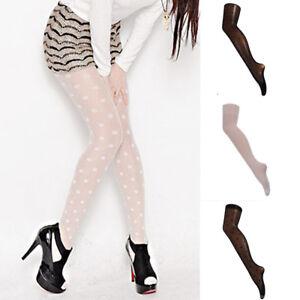 Women Sexy Stockings Lace Dots Pantyhose Socks Hosiery Tight Elastic Stockings.