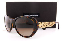 Brand New Dolce & Gabbana Sunglasses 4213 502/13 Havana/Brown Women