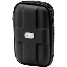 "Hama 2.5"" HDD Case EVA Portable Small Hard Drive Storage Case Black 084113 NEW"