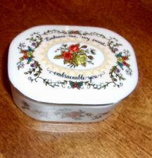 Songs of Love Music Box Fine Porcelain My Sweet Embraceable You 1983 Franklin