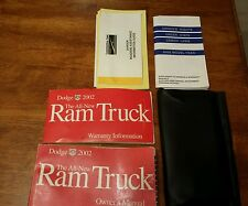 2002 02 Dodge Ram Truck Owners Manual books mopar oem