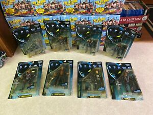 8 Todd McFarlane Toys Spawn Action Figure Collection of MOVIE SET 1997 NIP Lot