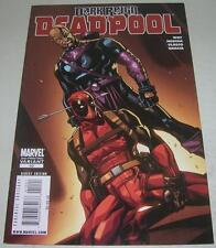 DEADPOOL #10 2ND PRINTING VARIANT (Marvel Comics 2009) DARK REIGN (VF-) RARE