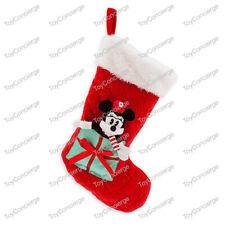 DISNEY Store CHRISTMAS 2019 Stocking MINNIE MOUSE PLUSH Holiday NWT