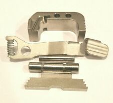 KING GLOCK SATIN CHROME CONTROLS KIT WITH EXTENDED MAG CATCH FOR GLOCK MODEL 43