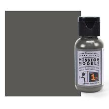 Pintura Modelos de misión, - MMP-014 panzergrey RAL 7021 1fl.oz Botella