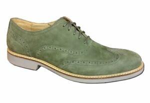 Cole Haan Men's Great Jones Wingtip Oxfords Shoes - Fatigue