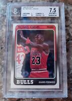 1988 Fleer Michael Jordan #17 BGS Graded 7.5 w 9 subgrade Chicago Bulls
