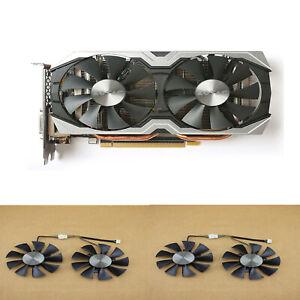 Cooling Fan Graphics Card Cooler Fan For ZOTAC GTX1070 MINI/GTX1060 AMP Set